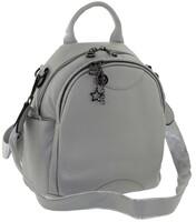 Рюкзак кожаный два отдела LMR 77208-18j