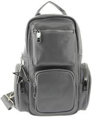 Рюкзак кожаный с карманами LMR 3117-18j